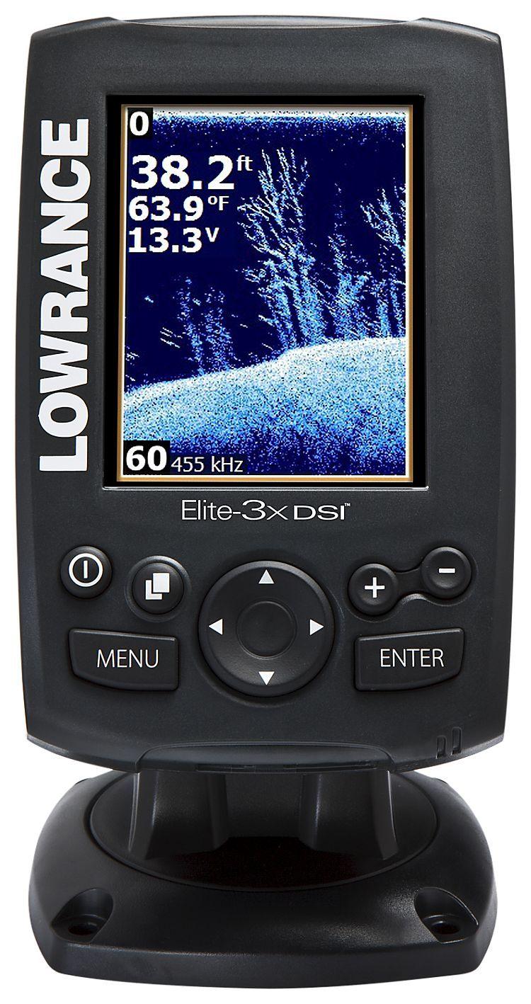 Lowrance Elite3x DSI Fishfinder Bass Pro Shops