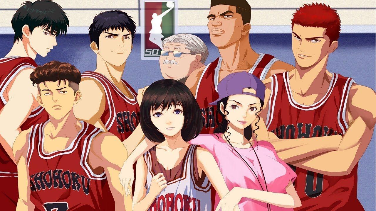 Pin by ローズ 花 on cartoon Slam dunk anime, Slam dunk