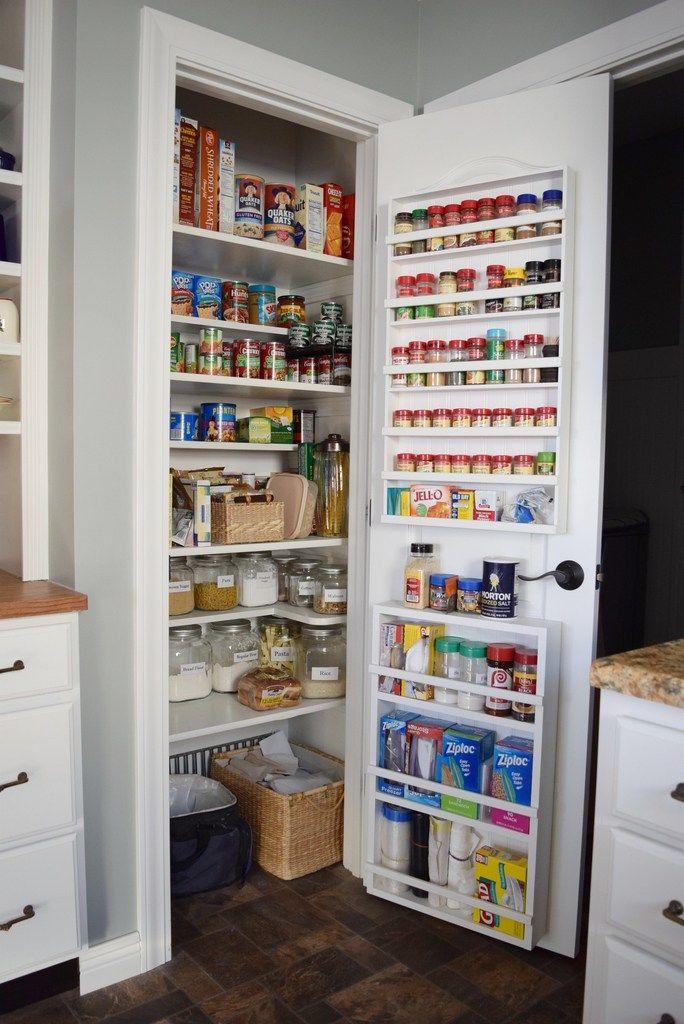 Kitchen Re-do on a Budget #kitchenpantrystorage