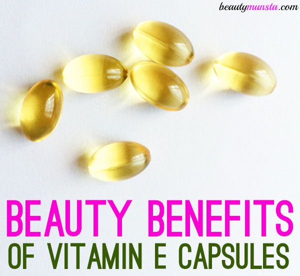 20 Beauty Benefits Vitamin E Capsules For Beautiful Hair Skin Vitamin E Capsules Vitamin E Benefits Of Vitamin E