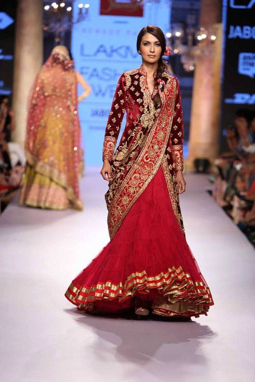 Lehenga Lookbook: Top 10 lehenga Inspirations from Lakme Fashion ...