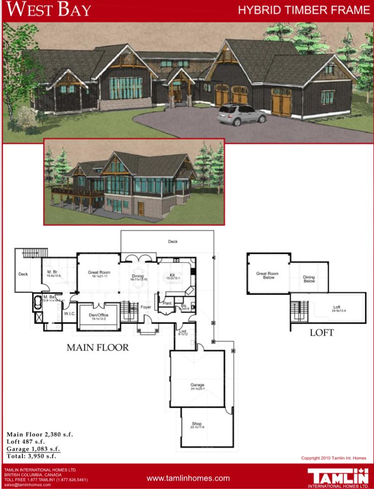 Plans Above 2500 Sq.Ft   Tamlin House Plans   Pinterest   West coast ...