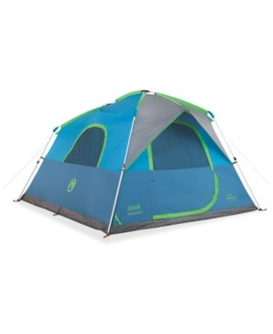 Coleman Signal Mountain 6-Person Instant Tent - Gray