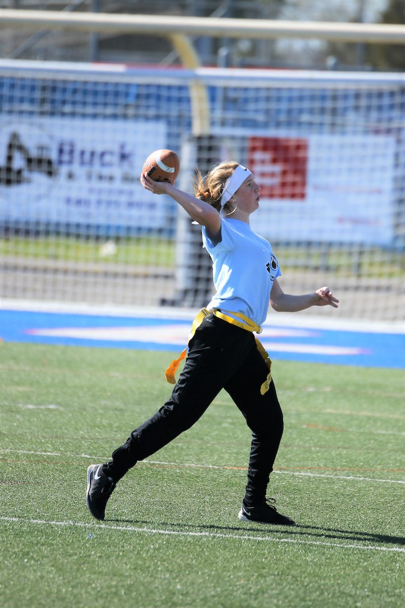 Pin by Talon Yearbook on 2019 Powder Puff Flag football