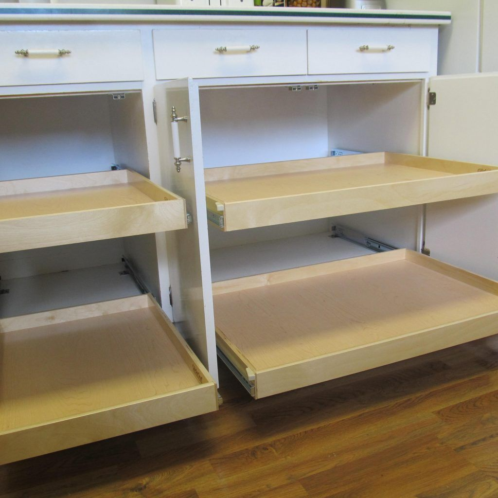 Sliding Drawer Inserts For Kitchen Cabinets Pull Out Kitchen