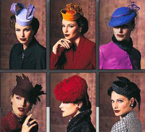 f78b983828c 1930s 40s Style Millinery HAT Patterns Birdcage   Pillbox Hats w  Veil  Feathers All Sizes Vogue 7657 905 UNCUT Accessories Sewing Patterns
