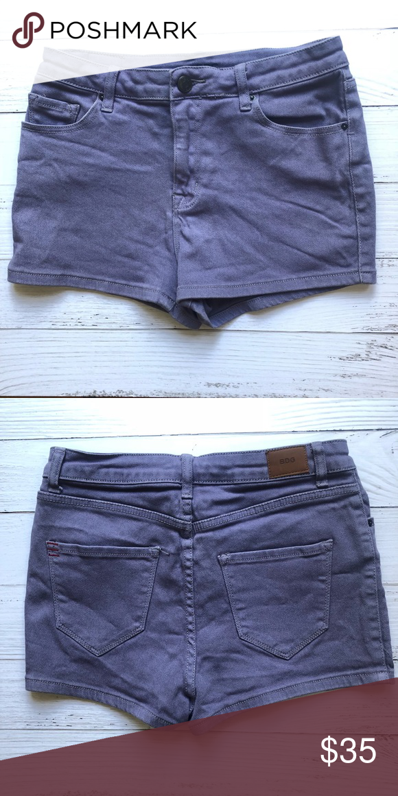 eb58c2af8d BDG High-Rise Urban Outfitters Shorts BDG High-Rise Urban Outfitters Shorts  size 29. These shorts are in excellent condition with a nice matte purple  color, ...