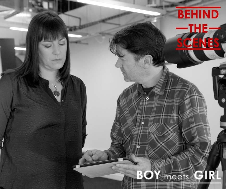 "Behind the Scenes of BBC's ""Boy Meets Girl"" created by our SharpFuturesENGAGE team"