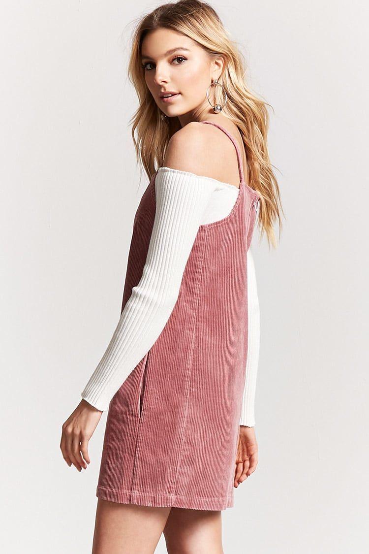 Pink dress forever 21  Product NameCorduroy Shift Dress Categorydress Price