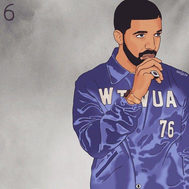 ᴘɪɴᴛᴇʀᴇsᴛ ᴀʏᴇɪᴛsʟᴀᴅʏ Drake rapper, Hip hop art, Art