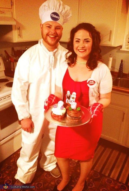 Betty Crocker & Pillsbury Doughboy - Halloween Costume Contest at Costume-Works.com #mamp;mcostumediy