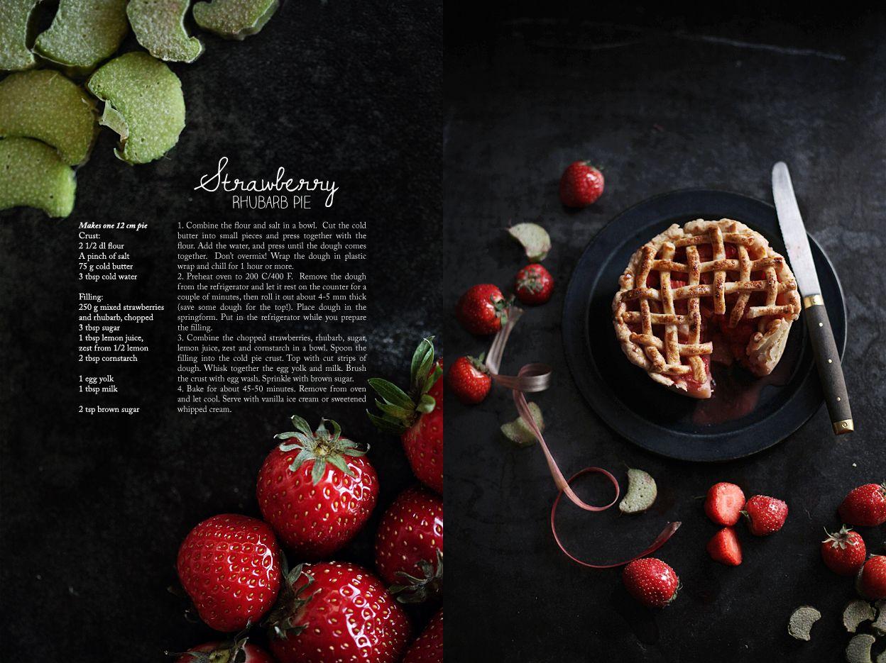 Strawberry Rhubarb Pie - Call me cupcake!