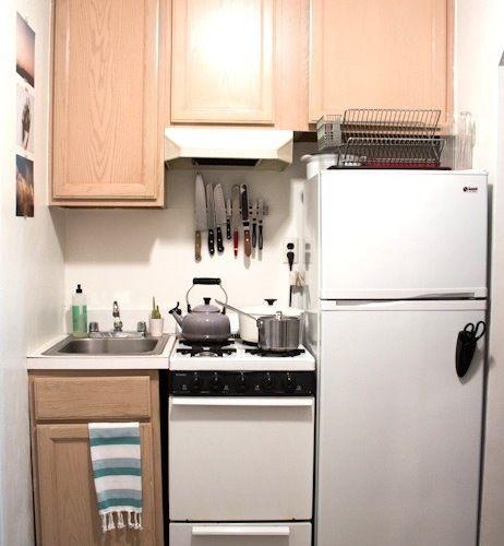 Interior Design For Very Small Kitchen: Fabulous Very Small Apartment Kitchen Design Coolest