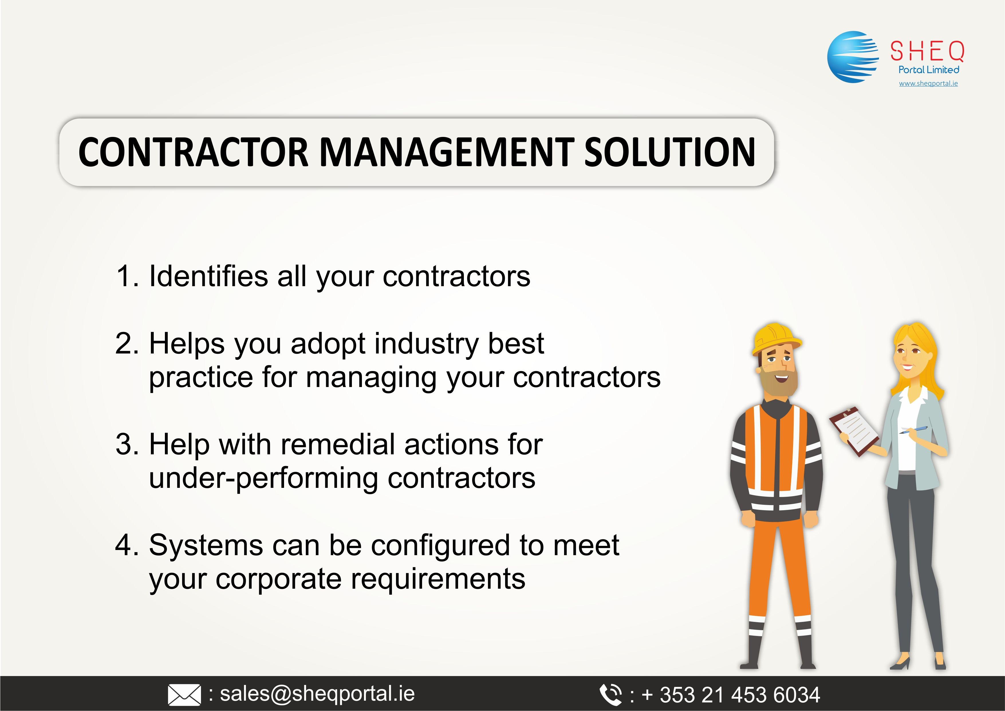 Contractor Portal let's you have clear, real time