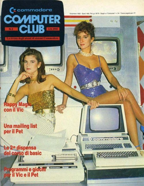 Bits, Bytes and Brunettes | Commodore Computer Club #80s #retro ...