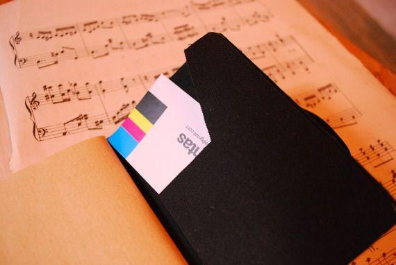 Libreta musica / catrotintas - Artesanio