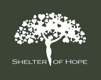 Shelter Of Hope Logo By Randyheil Hope Logo Shelter Logo Project