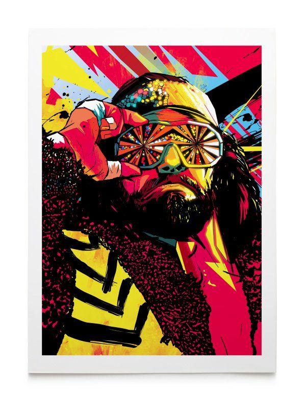Macho Man Randy Savage Iphone Wallpaper