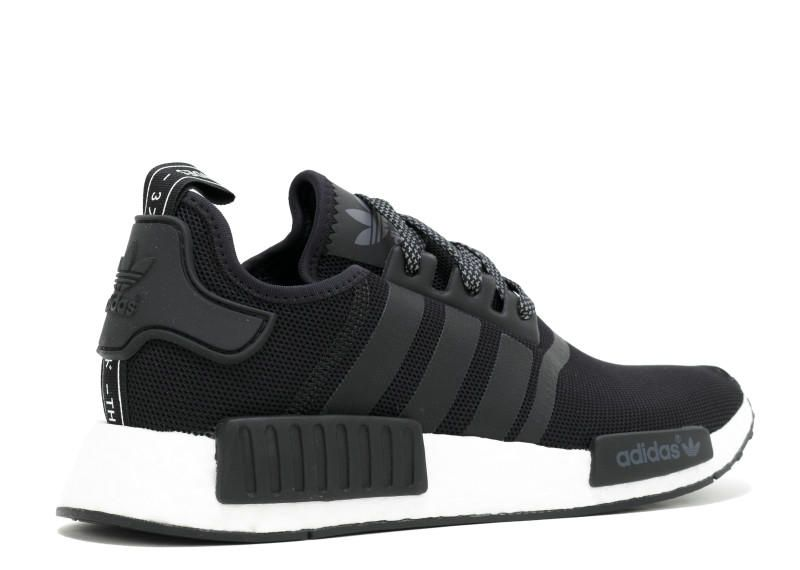 new product e0c4c d95a1 Genuine Real adidas NMD R1 Black White S31505