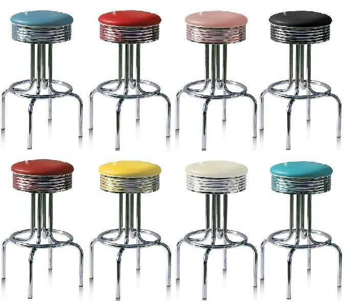 Retro Bar Stools Click On Image To View Colours Details