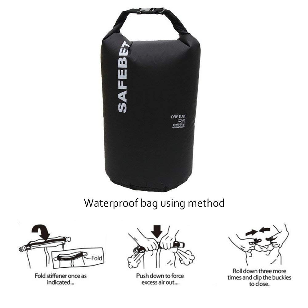 Heavey-Duty PVC Water Proof Dry Bag Sack for Swimming//Camping//Fishing//Boating