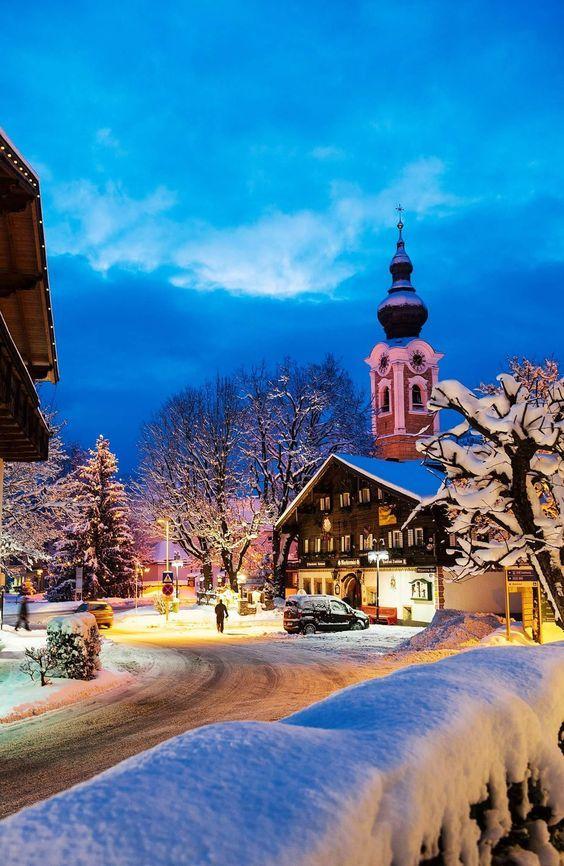 In Altenmarkt, Austria.