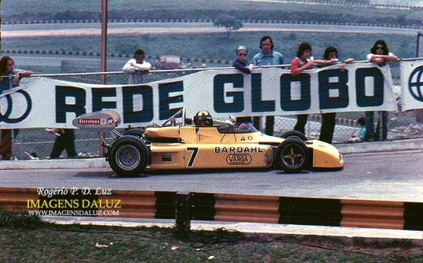 Wilson Fittipaldi - Brabham BT38 Cosworth BDA - Team Bardahl - II Torneio Brasiliero Formule 2 1972