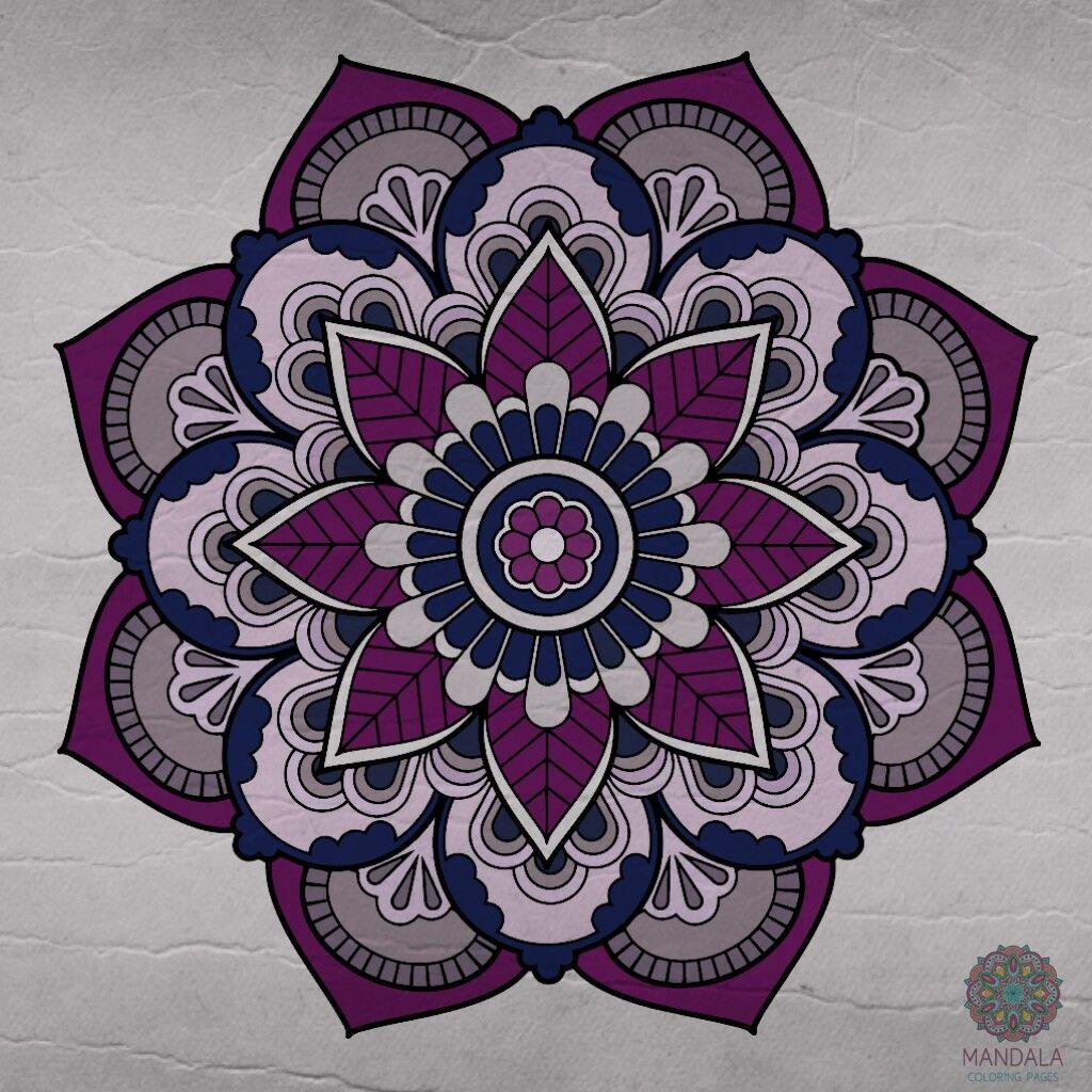 Pin de Michaela Loon en Mandala coloring | Pinterest | Mandalas ...