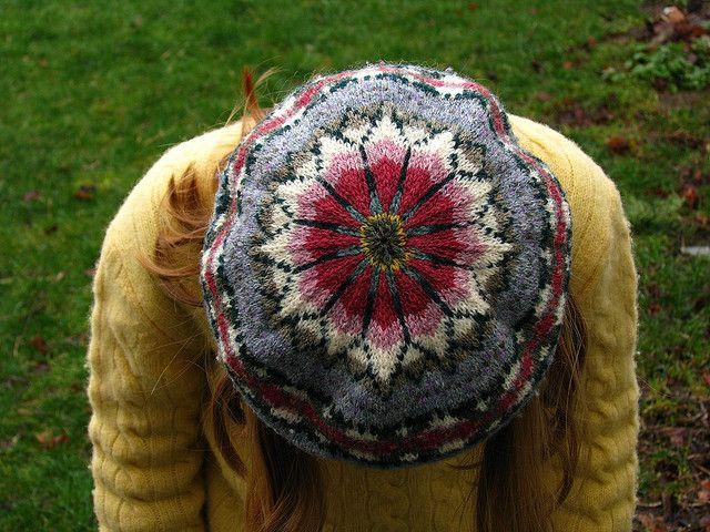 Fair Isle. Must make myself a real fair isle beret soon ...