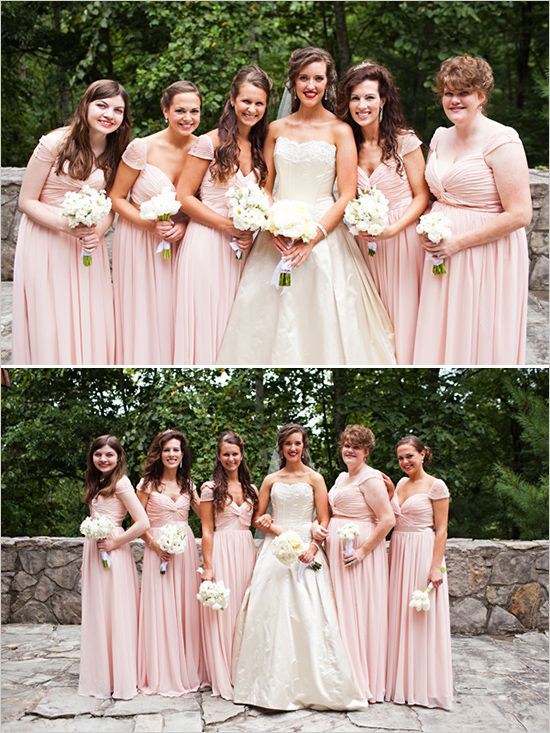pink bridesmaid dresses | Let us help you plan all the details for ...