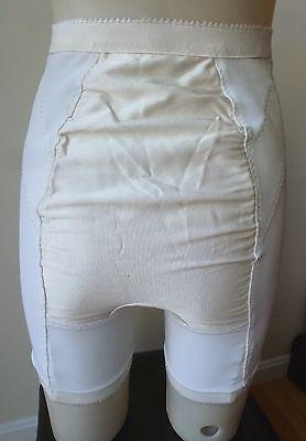 ffdcba1610d1 Vintage Gossard FIRM CONTROL long leg panty girdle w/garters,Satin panel,  sz L