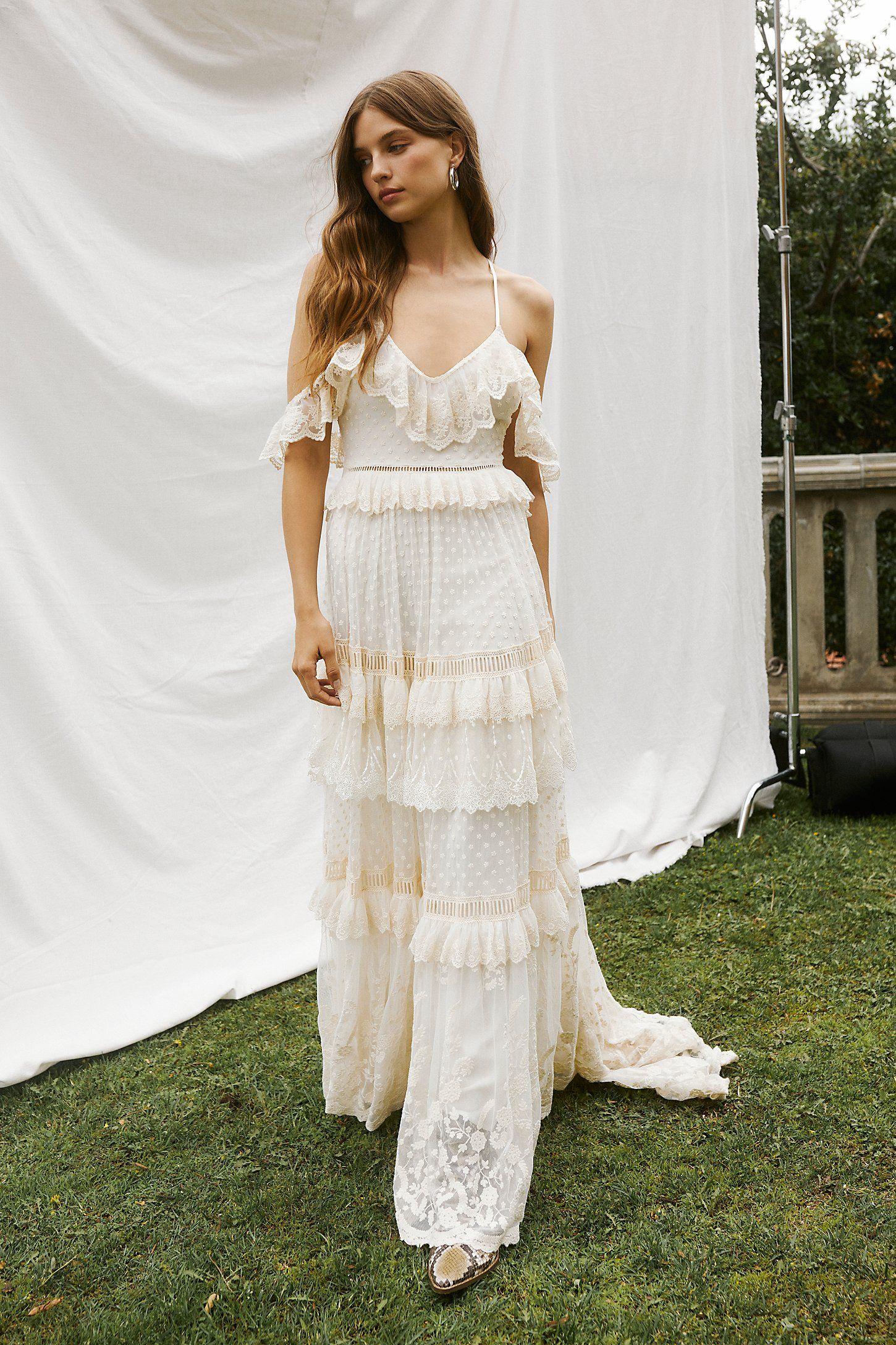 Chloe Gown Dresses White Maxi Dress Boho Gowns [ 2175 x 1450 Pixel ]