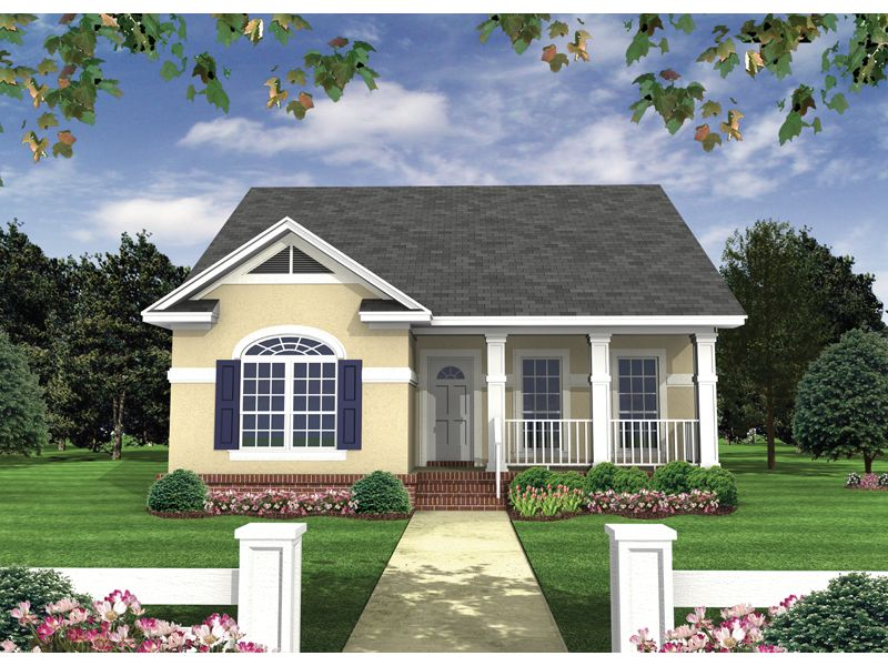 Windingpath Country Ranch Home Bungalow House PlansSmall