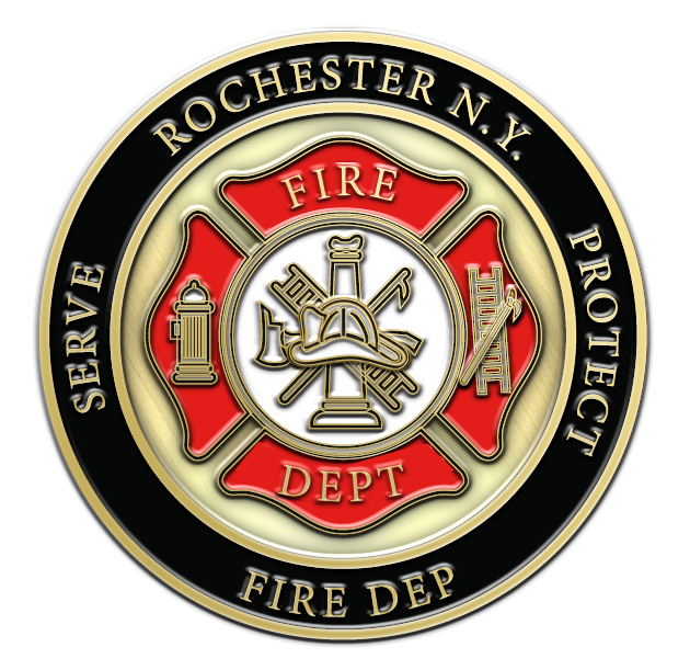 Custom Challenge Coins Made For Fire Department