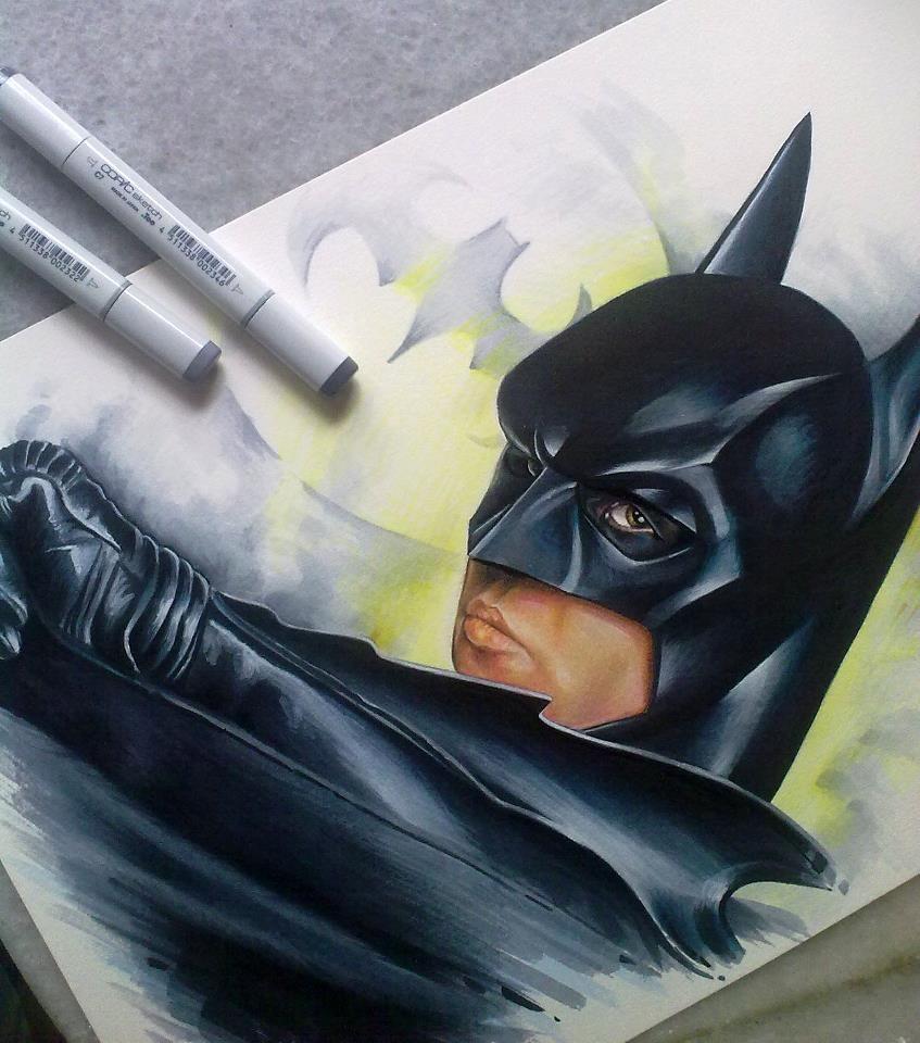 Batman movie art