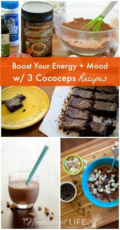 boost your energy mood w 3 cococeps recipes chocolate reishi cordyceps chocolate peanut butter smoothie peanut butter smoothie and chocolate peanut