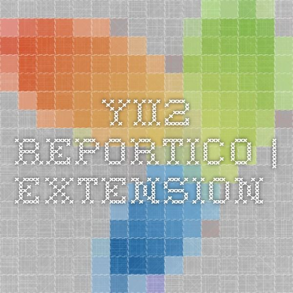 yii2-reportico | Extension | Yii | Extensions