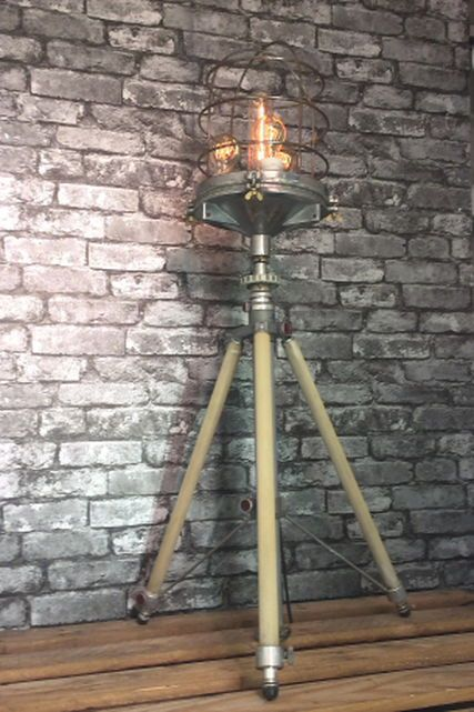 Loomlight has vintage and industrial floor standing lamps ...