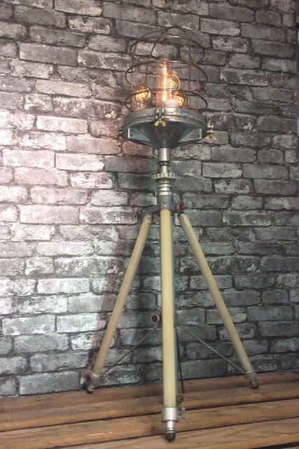 Loomlight has vintage and industrial floor standing lamps ...