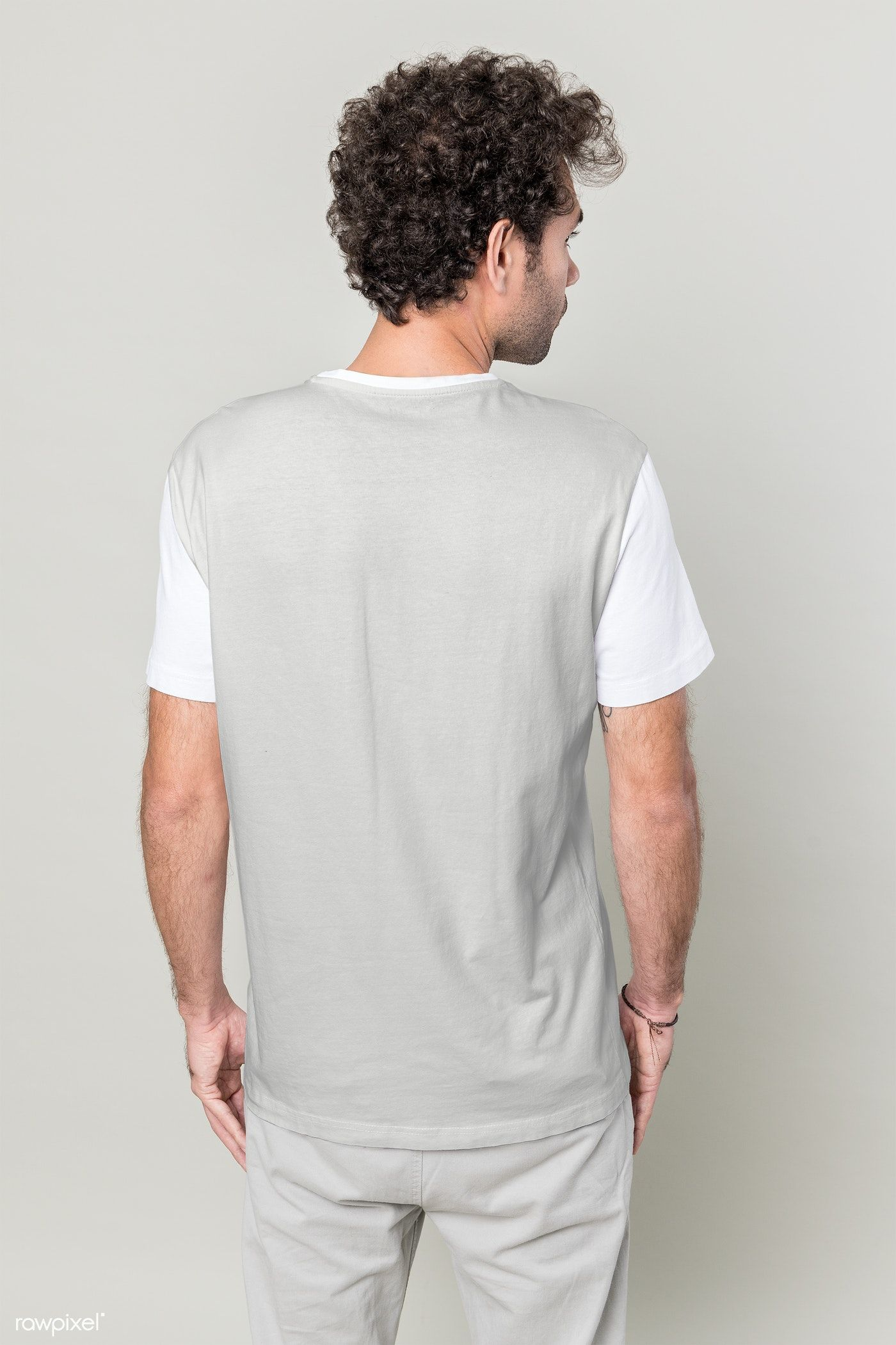 Back View Of Man In T Shirt Transparent Png Premium Image By Rawpixel Com Teddy Rawpixel Orange T Shirts Denim Jacket With Hoodie T Shirt And Jeans