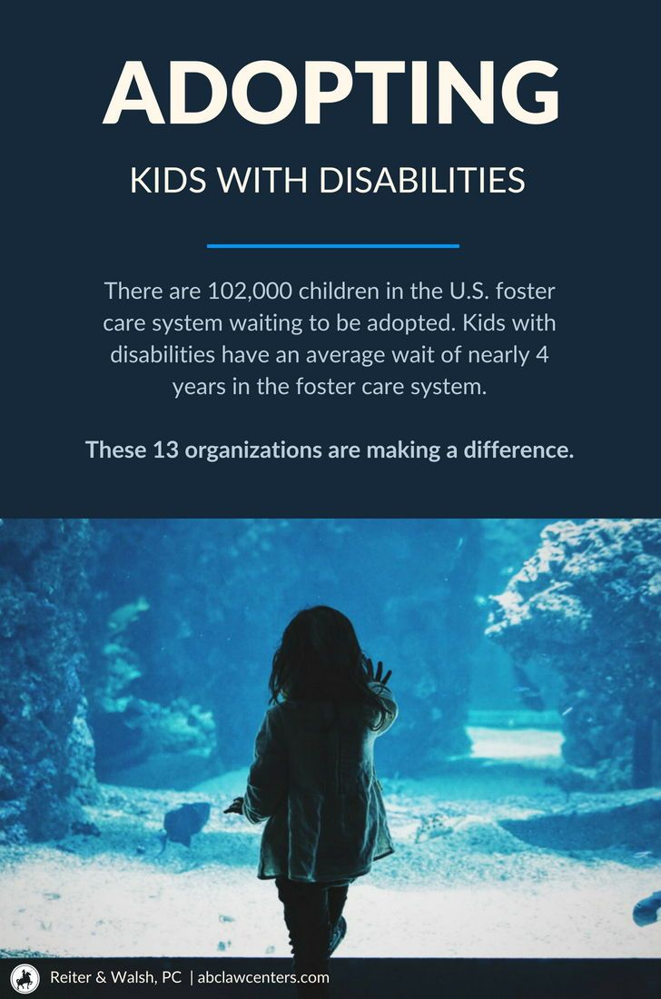Adopting Kids with Disabilities 13 Organizations Making a