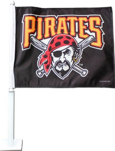 Pittsburgh Pirates - MLB Car Flags