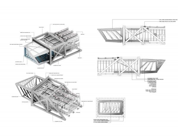 Architectural Drawings Of Skyscrapers robotic facade for a new skyscraper in chicago reacts to weather