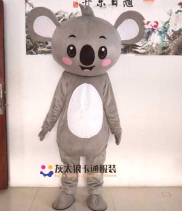 Halloween Koala Maskottchen Kostüm Anzug Cosplay Adult Tier Werbung Karneval US ... Halloween Koal