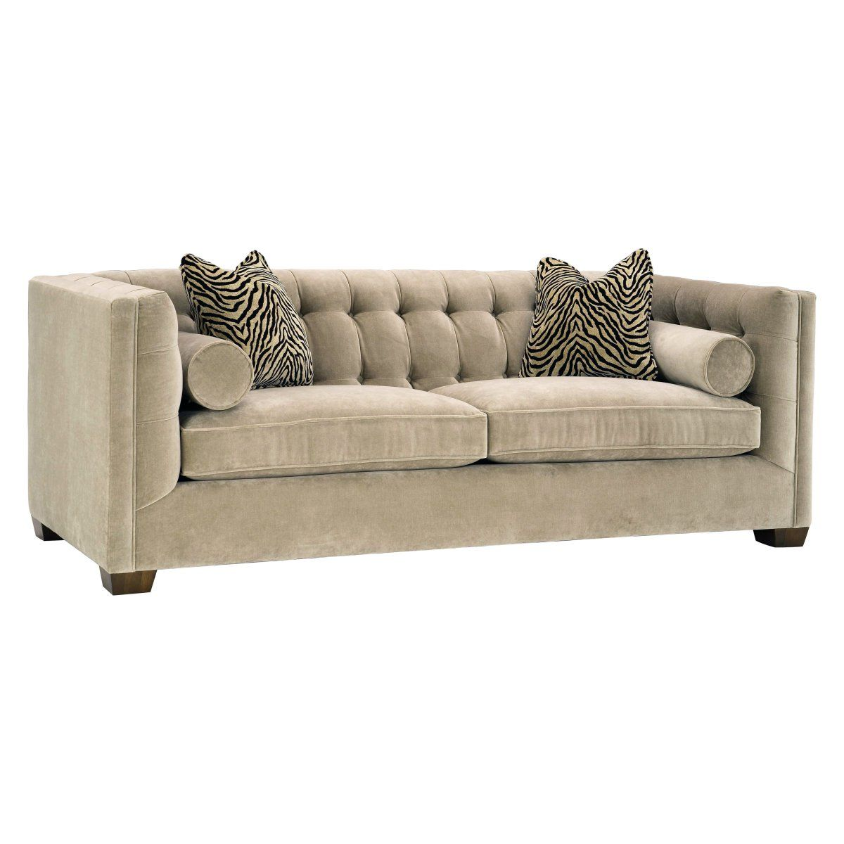 Lazar Tommy Condo Bellisimo Cafe Fabric Sofa With Pillows 2 200 Sofa Styling Sofa Design Decorative Pillows Couch