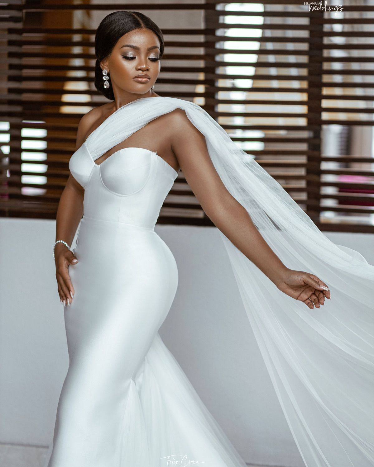 This Bride Shut it Down in these 4 Stunning Outfits for her Wedding!