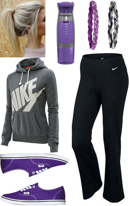 3e6724514d302 Cute lazy outfit, or athletic outfit. #teen #fashion #nike ...