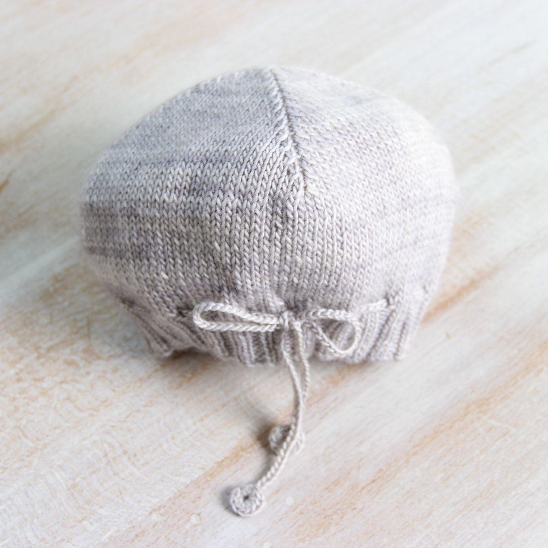 0e61996857b8 Bonnet bébé   Explications tricot en français   PDF Téléchargement  Instantané   4 Tailles   Naissance   3   6 - 9 et 12 - 18 mois de la  boutique ...