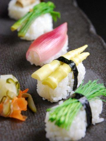 Veg sushi httpshizuokagourmetvegan sushi recipe suggestions food forumfinder Choice Image