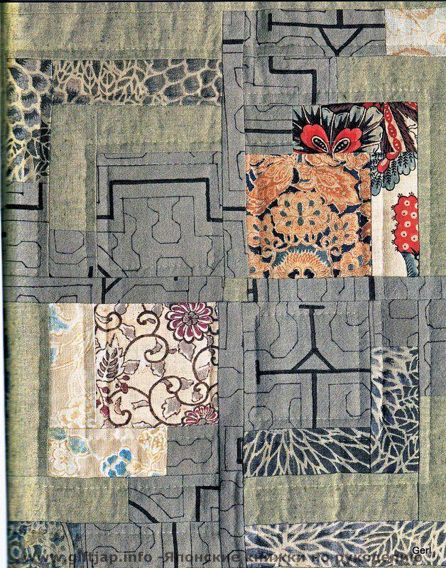 Log Cabin patterns